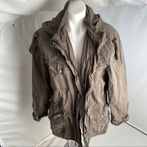 Buffalo David Bitton olive utility jacket XL